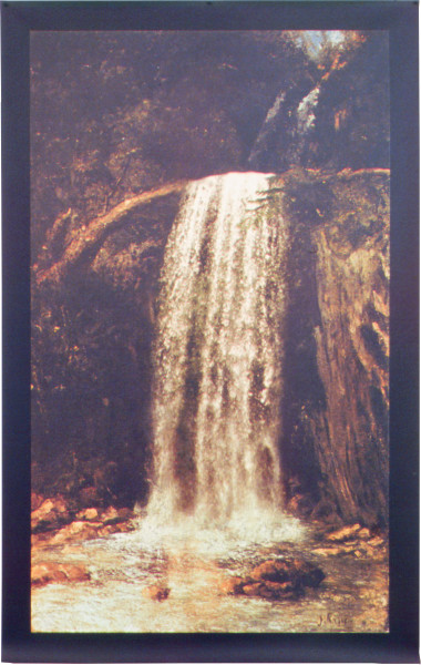 Julie Rrap Untitled (after Courbet's 'The Source'), 2002; Vutek print, solvent pigment inks on canvas; 81 x 48 cm; Edition of 9; enquire