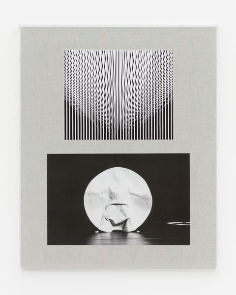David Noonan Untitled, 2019; Giclée print collage on linen mounted on aluminium, perspex box frame; 85 x 105 cm; enquire