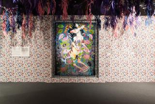 Del Kathryn Barton we will ride, 2014; acrylic on linen; 263 x 203 cm; enquire