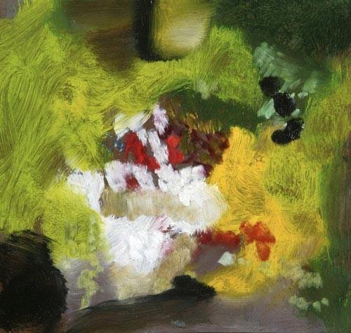 Louise Hearman Untitled #1181, 2005; oil on masonite; 27 x 28 cm; enquire