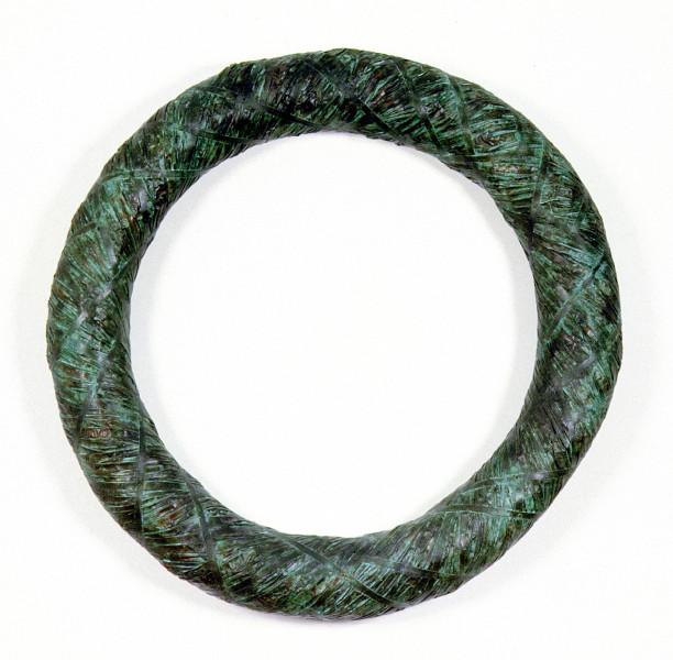 Bronwyn Oliver Wreath II, 1996; copper; 120 x 120 x 20 cm; enquire