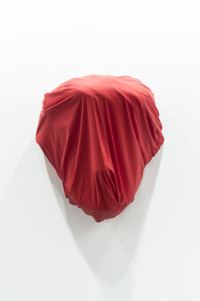 Callum Morton Cover Up #30, 2017; polyurethane, resin, timber, synthetic polymer paint; 93 x 80 x 62 cm; enquire