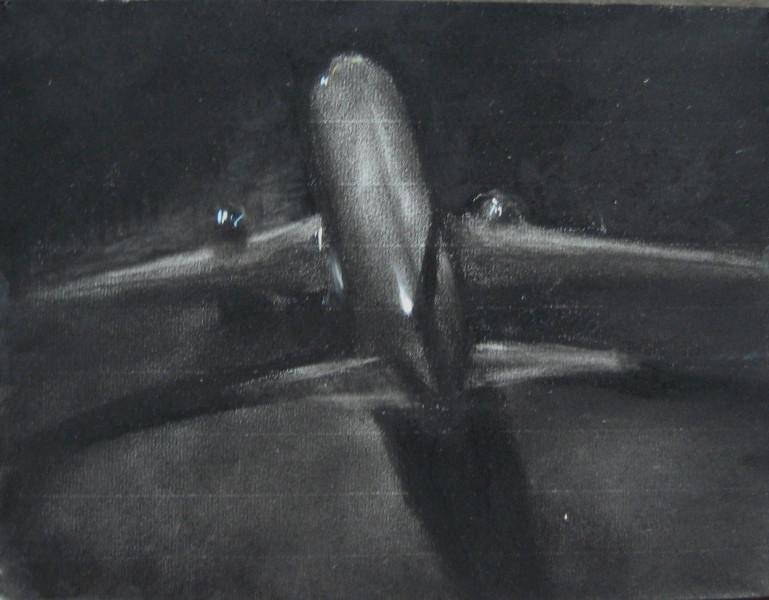 Louise Hearman Untitled #1070, 2005; pastel on coloured paper; 25 x 32 cm; enquire