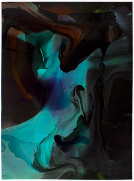Dale Frank Mowbray Park, 2008; varnish on canvas; 160 x 120 cm; enquire