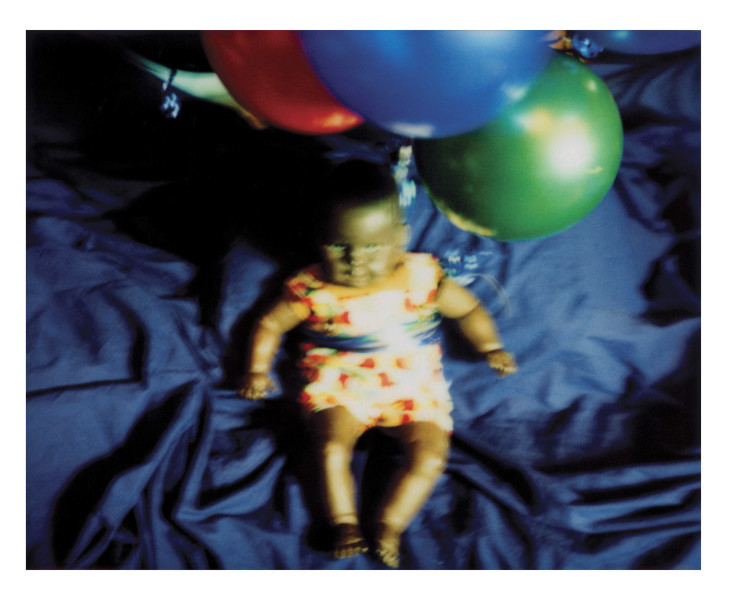 Destiny Deacon Fly baby fly, 2006; lightjet print from Polaroid original; 80 x 100 cm; Edition of 8 + 2 APs; enquire