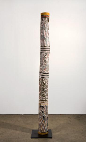 Mulkun Wirrpanda Gutjawutja, 2015; Larrakitj; 175.5 x 20 x 20 cm; enquire
