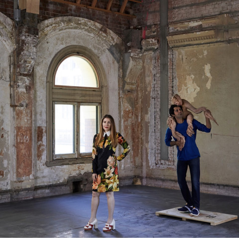 Patricia Piccinini in RISING, Melbourne