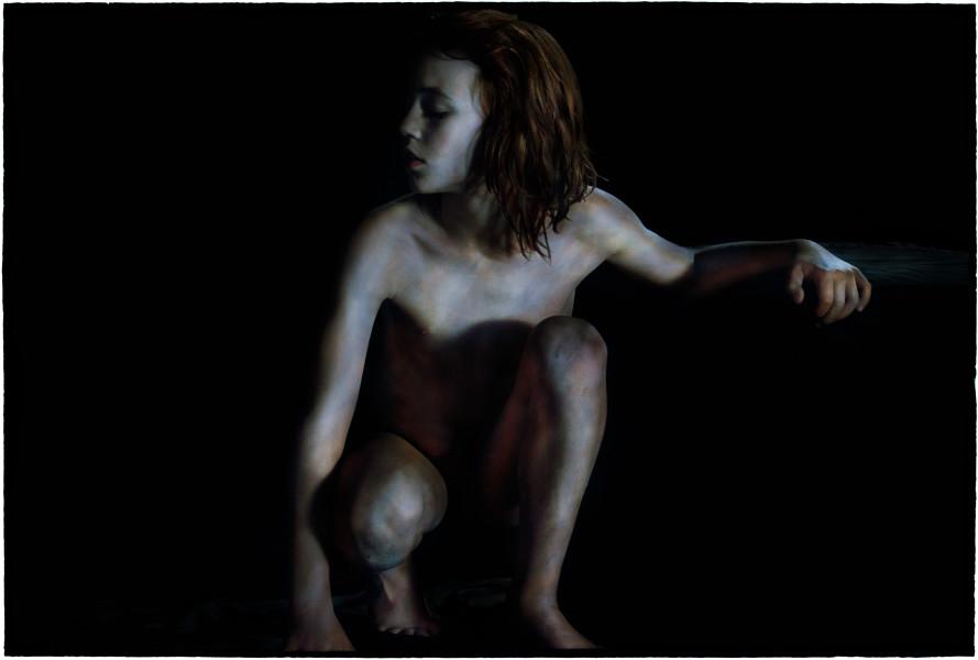Bill Henson Untitled #18, 2011-12; RC SH18 N23B; archival inkjet pigment print  ; 127 x 180 cm; Edition of 5 + AP 2; enquire