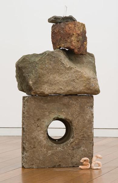 Mikala Dwyer 36, 2009; concrete, sandstone, rocks; 70 x 37 x 20 cm; enquire