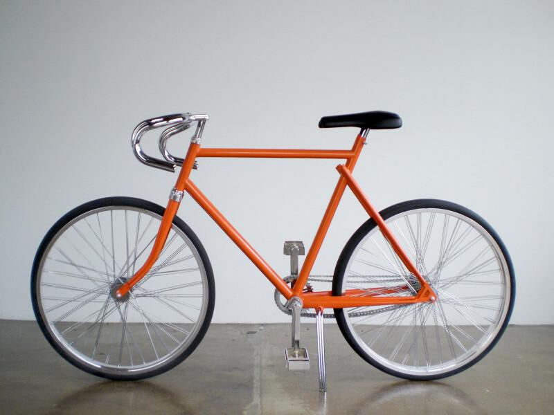 James Angus Bicycles, 2007; metal, rubber, paint; 108 x 54 x 182 cm; enquire