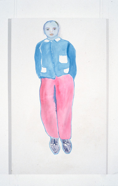 Angela Brennan Tony Clark as a portrait, 1994; oil on canvas; 152 x 92 cm; enquire
