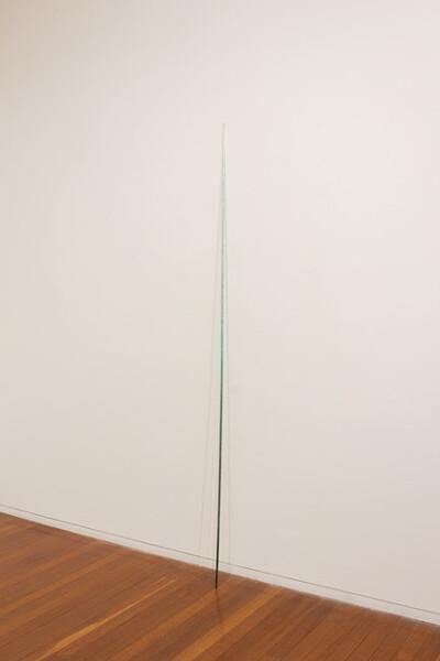 Jonny Niesche Logic Stick #3, 2012; wood, glitter, acrylic; 240 x 1 x 1 cm; enquire
