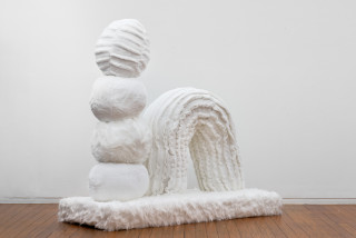 Kathy Temin Mothering Garden: Rainbow Sculpture, 2021; synthetic fur, synthetic filling; 160 x 170 x 75 cm; enquire