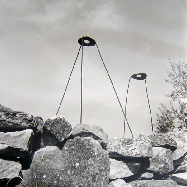 Bill Culbert Two Lampshade Frames, France, 2002; silver gelatin prints; 40.5 x 40.5 cm; Edition of 25; enquire