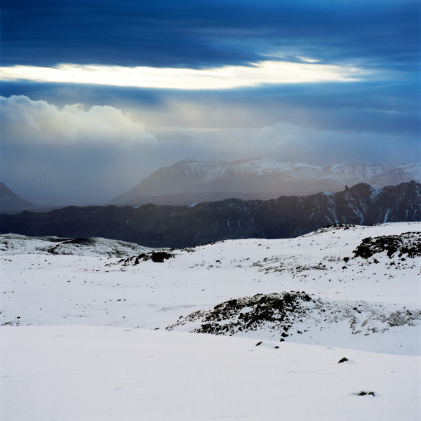 Isaac Julien True North Series, Ice Project Work No. 2, 2006; duratrans in lightbox; 120 x 120 cm; Edition of 6 + AP 1; enquire