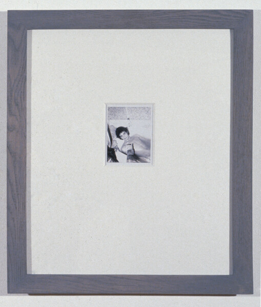 Robert Mapplethorpe Self Portrait, 1973; Polaroid; 11 x 8.5 cm; enquire