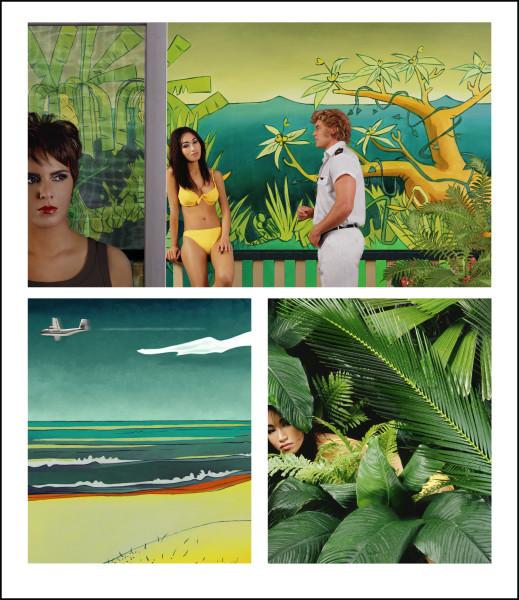 Tracey Moffatt Adventure Series 10, 2004; colour print on Fujiflex paper; 132 x 114 cm; Edition of 25; enquire