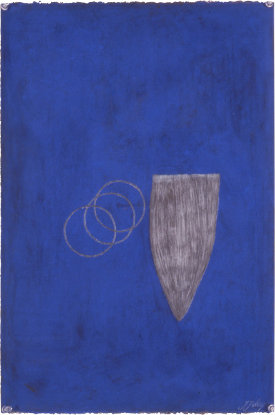 Fiona Foley Catching Tuna, 1992; pastel on paper; 56 x 38 cm; enquire