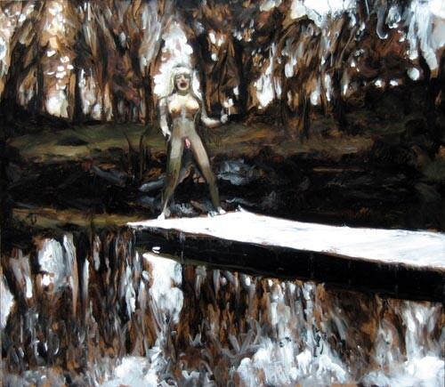 Louise Hearman Untitled #1108, 2004; oil on masonite; 53 x 61 cm; enquire
