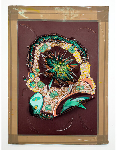 Rohan Wealleans Forrest Horrorgami, 2005; paint on paper; 90 x 60 x 15 cm; enquire