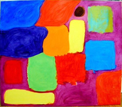 Angela Brennan Painting for little Lotte, 2001; Oil on linen; 150 x 180 cm; enquire
