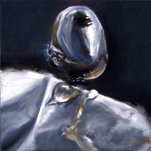 Louise Hearman Untitled #  990, 2003; oil on masonite; 61 x 61 cm; enquire