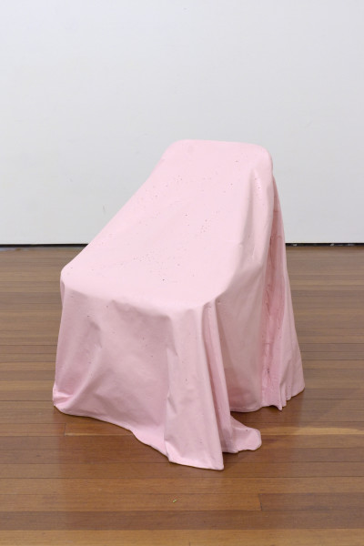 Callum Morton Cover Up #2, 2012; polyurethane resin, wood, synthetic polymer paint; 72 x 70 x 70 cm; enquire