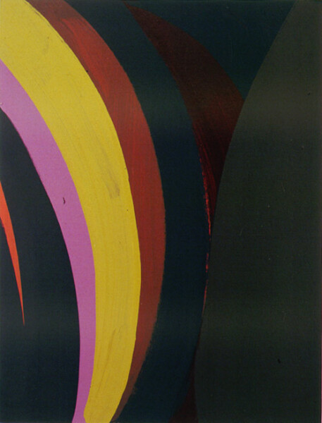 Tony Clark Lontano XXXII, 2000; from the series Lontano; Acrylic on canvas board; 61 x 45.5 cm; 1 panel; enquire
