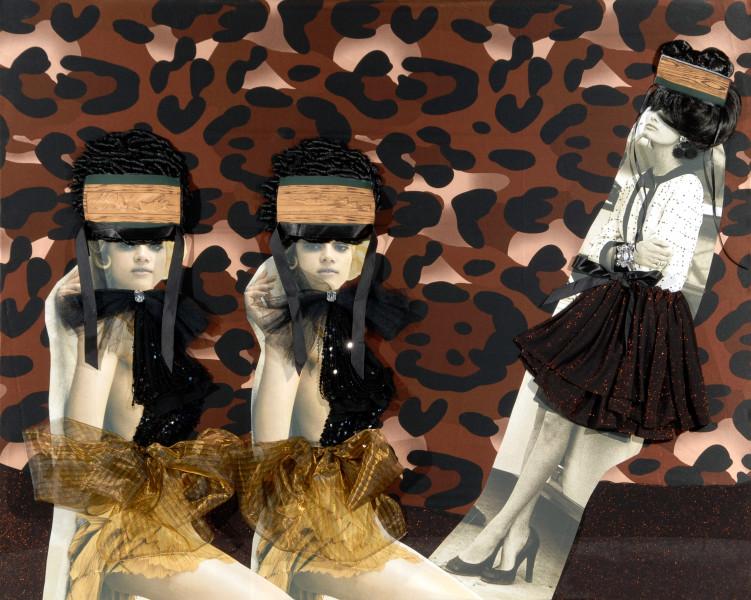 Jacqueline Fraser 7. MAGIQUE, untitled, 2008; backlit photographs and mixed media; 150 x 120 cm; enquire