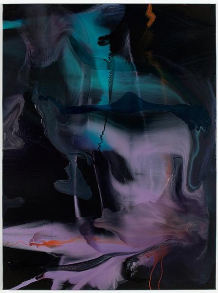 Dale Frank Menangle Park, 2008; varnish on canvas; 160 x 120 cm; enquire