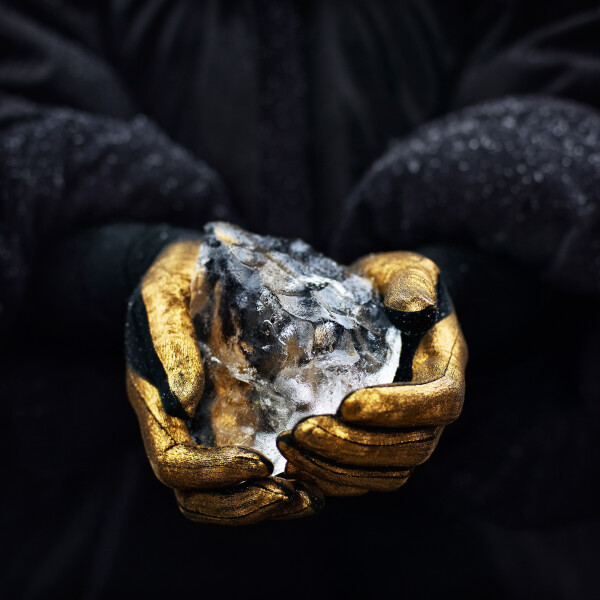 Isaac Julien Stones Against Diamonds (Stones Against Diamonds), 2015; Duratrans in lightbox; 123 x 123 x 5 cm; Edition of 4 + AP 1; enquire