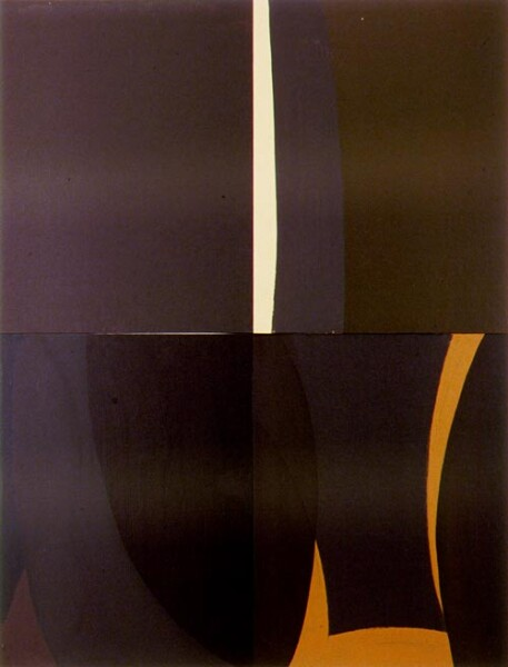 Tony Clark Lontano XXVII, 2000; from the series Lontano; Acrylic on canvas board; 122 x 91.5 cm; 4 panels; enquire
