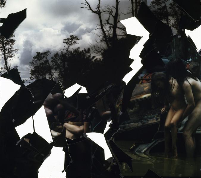 Bill Henson Untitled, 1994; type C photograph, adhesive tape, pins, glassine; 244.3 x 274.8 cm; enquire