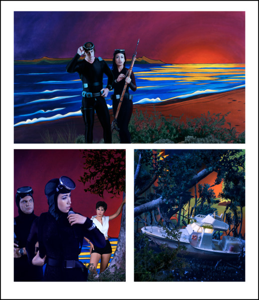 Tracey Moffatt Adventure Series 4, 2004; colour print on Fujiflex paper; 132 x 114 cm; Edition of 25; enquire