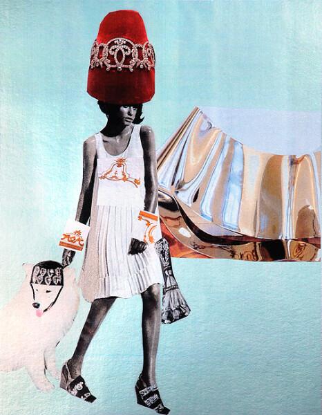 """Jacqueline Fraser """"COU-COU, DARLING."""", 2007; 100 x 100 cm (framed); enquire"""