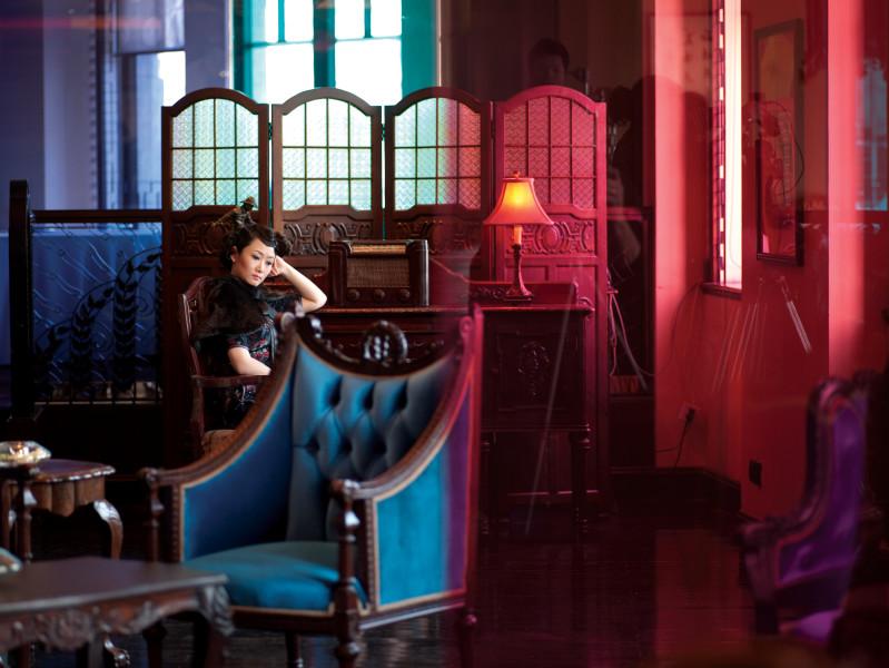 Isaac Julien Glass House (Ten Thousand Waves), 2010; Endura Ultra photograph; 180 x 240 cm; Edition of 6 + 1 AP; enquire