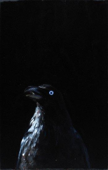 Louise Hearman Untitled #1147, 2005; oil on masonite; 36 x 23 cm; enquire