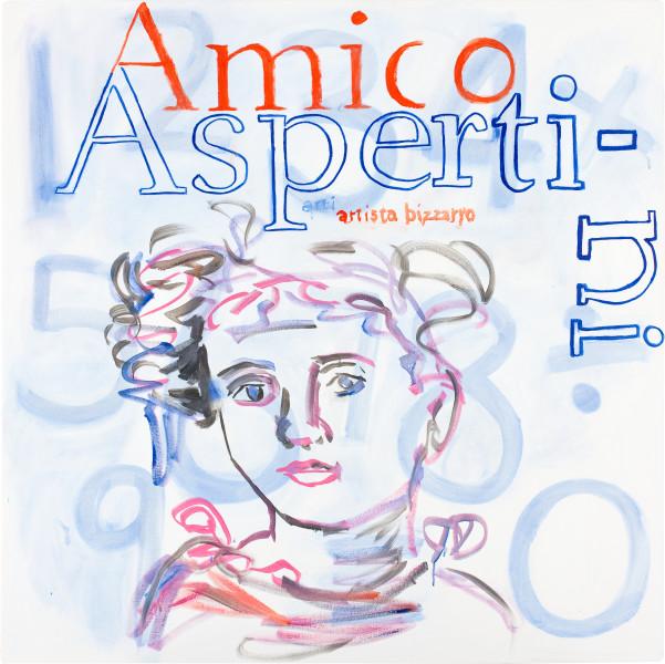 Angela Brennan Amico Aspertini, 2009; oil on linen; 122.5 x 122.5 cm; enquire