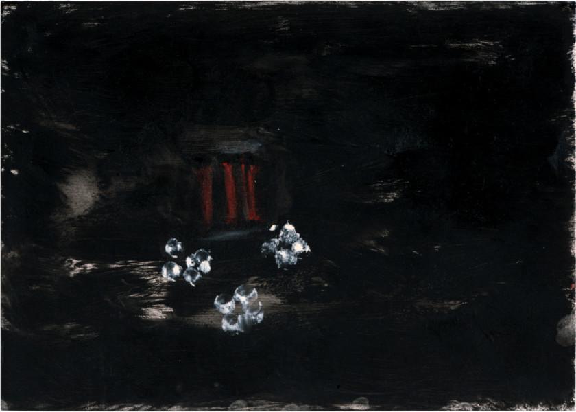 Tony Clark Sacro Idyllic Landscape, 1984; oil on paper; 25.5 x 35.5 cm; enquire