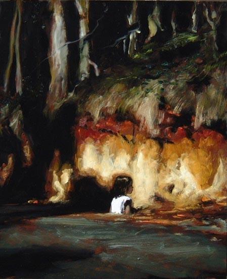 Louise Hearman Untitled #1057, 2004; oil on masonite; 61 x 51 cm; enquire