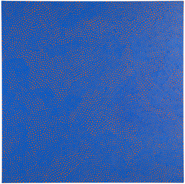 Yayoi Kusama INFINITY-NETS LZOPT , 2009; acrylic on canvas ; 116.7 x 116.7 cm; enquire