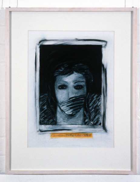 Kristine Rose Self Reference 1984-86, 1986; charcoal, pastel & graphite on paper; enquire