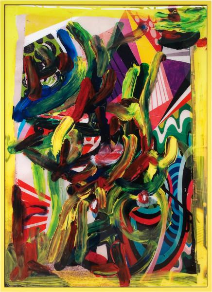 TV Moore Colour Drunks and Ritalin, 2011; unique c-print, painted frame; 171 x 124 cm; enquire