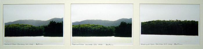 Destiny Deacon Postcard from Daintree (A) (B) (C), 1998; 3 colour laser prints; 21.2 x 29.8 cm; Edition of 15; enquire
