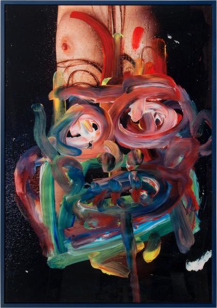 TV Moore Future Primitive, 2011; unique c-print, painted frame; 171 x 124 cm; enquire
